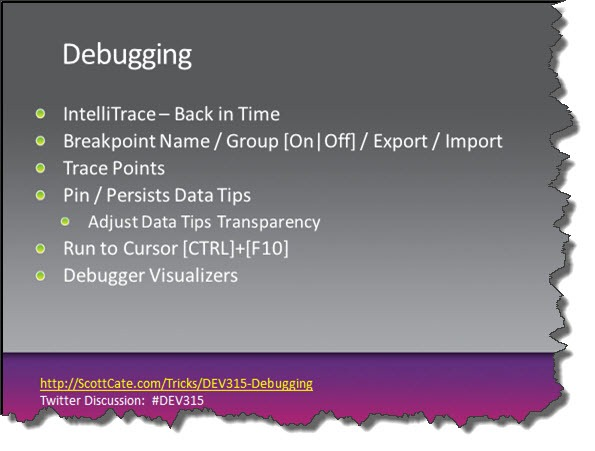 DEV315-11-Debugging