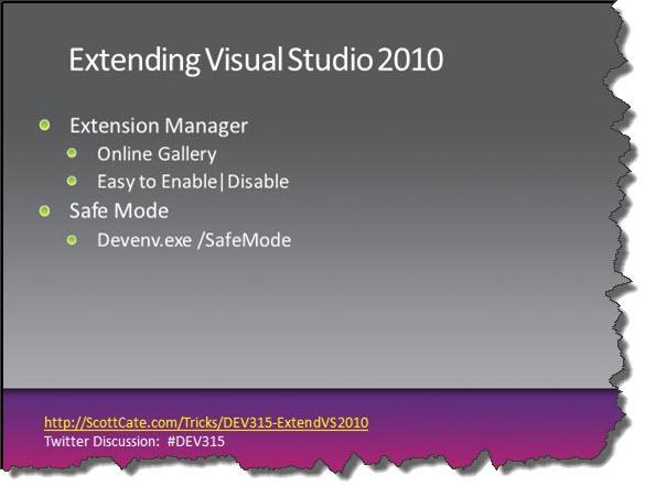DEV315-13-ExtendVS2010